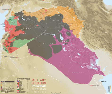 Syria and Iraq 5 May 2016